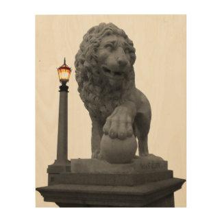 Impression Sur Bois Lion de St Augustine