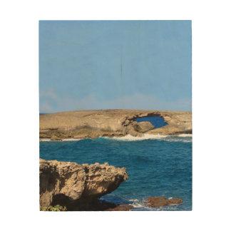 Impression Sur Bois L'oeil de l'océan