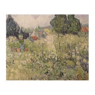 Impression Sur Bois Mademoiselle Gachet de Vincent van Gogh | dans le