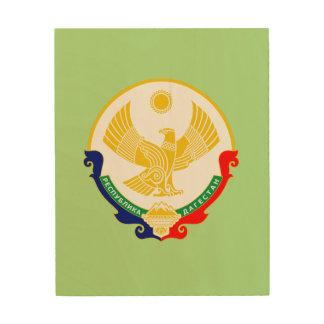 Impression Sur Bois Manteau des bras de Dagestan