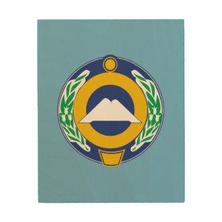 Impression Sur Bois Manteau des bras de Karachay-Cherkessia