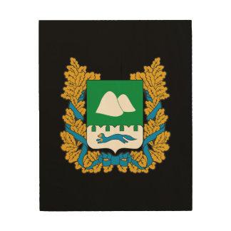 Impression Sur Bois Manteau des bras de l'oblast de Kurgan