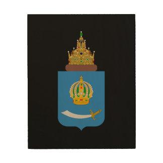 Impression Sur Bois Manteau des bras de l'oblast de l'Astrakan