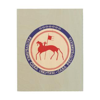 Impression Sur Bois Manteau des bras du Sakha