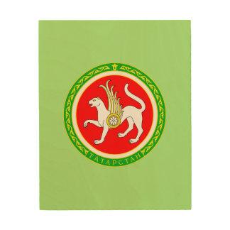 Impression Sur Bois Manteau des bras du Tatarstan