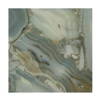 Impression Sur Bois Marbre et cristal