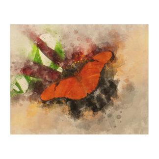 Impression Sur Bois Mariposa