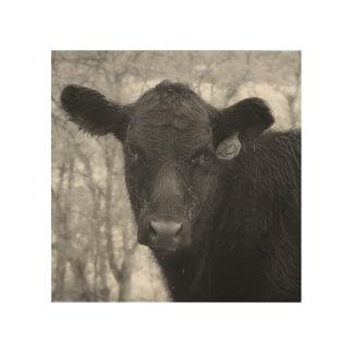 Impression Sur Bois Matin à la copie en bois de ranch