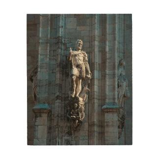 Impression Sur Bois Monument d'architecture de statue de dôme de