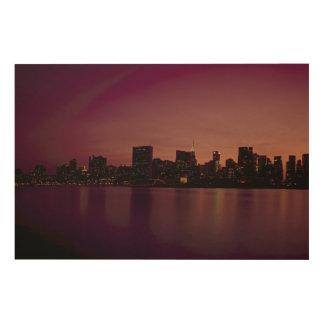 Impression Sur Bois New York City