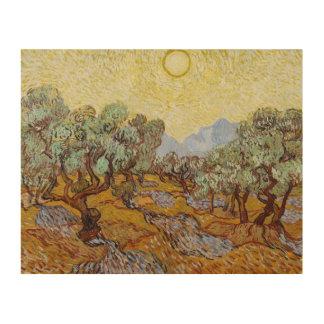 Impression Sur Bois Oliviers de Vincent van Gogh  , 1889
