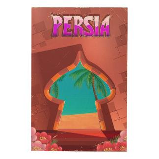 Impression Sur Bois Palais de Perse
