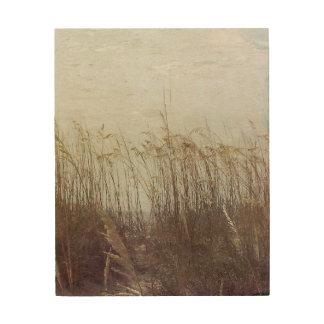 Impression Sur Bois Par les dunes II