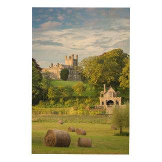 Impression Sur Bois Paysage rural de château de Crom