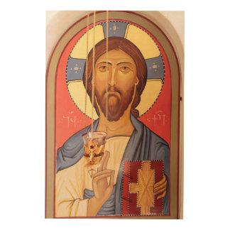 Impression Sur Bois Peinture de Jésus