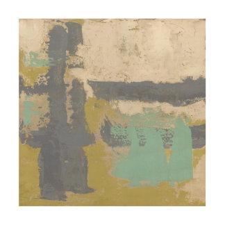 Impression Sur Bois Peinture libre moderne d'expression