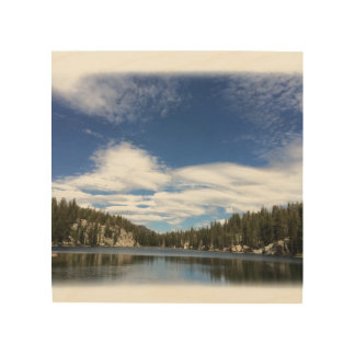 Impression Sur Bois Photo couleur de lac de TJ imprimée sur le bois