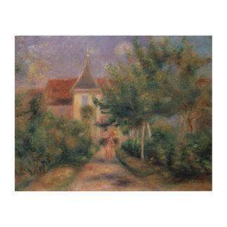 Impression Sur Bois Pierre maison de Renoir   un Renoir chez Essoyes