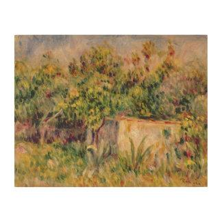 Impression Sur Bois Pierre un cabine de Renoir   dans une clairière