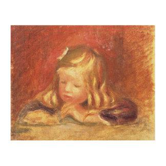 Impression Sur Bois Pierre un Coco de Renoir   au Tableau
