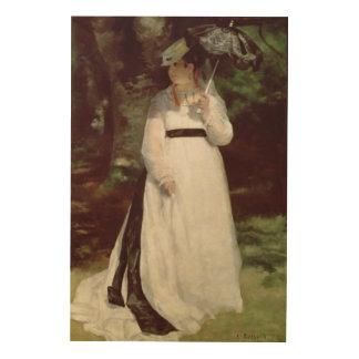 Impression Sur Bois Pierre un portrait de Renoir   de Lise
