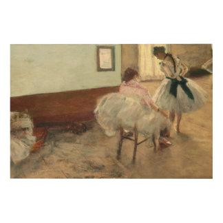 Impression Sur Bois Pierre un Renoir   la leçon de danse