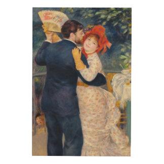 Impression Sur Bois Pierre un Renoir   une danse dans le pays