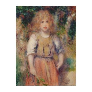Impression Sur Bois Pierre une fille gitane de Renoir |