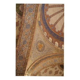 Impression Sur Bois Plafond bleu de mosquée