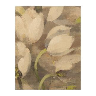 Impression Sur Bois Plaisir II de tulipe