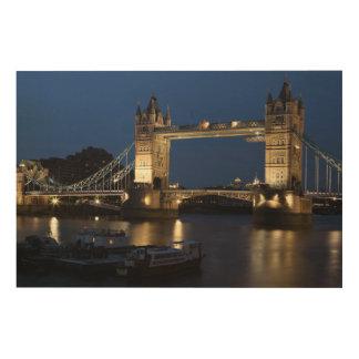 Impression Sur Bois Pont de tour, Londres