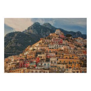 Impression Sur Bois Positano, Italie