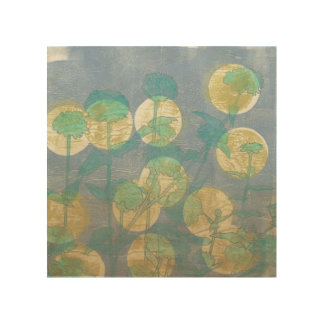 Impression Sur Bois Projecteur I floral