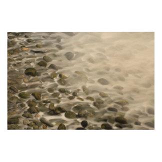 Impression Sur Bois Réservation en pierre d'état de Lobos de point de