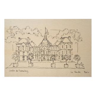 Impression Sur Bois Rue de Vaugirard, Paris du palais | du
