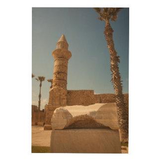 Impression Sur Bois Ruines antiques de Césarée