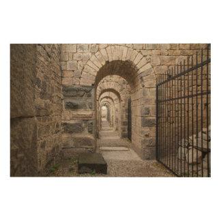 Impression Sur Bois Ruines de Grec de Pergamon