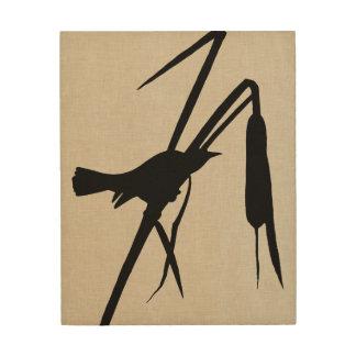 Impression Sur Bois Silhouette II d'Audubon