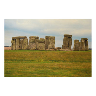 Impression Sur Bois Stonehenge pittoresque, Angleterre