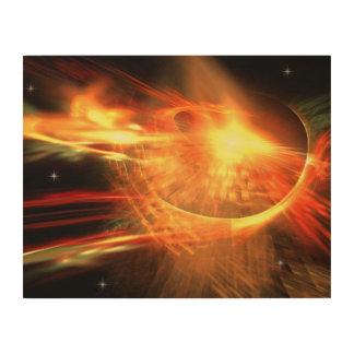 Impression Sur Bois Supernova