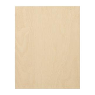 Impression Sur Bois Toile faite sur commande en bois 11x14