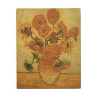 Impression Sur Bois Tournesols de Vincent van Gogh |, 1889