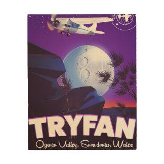 Impression Sur Bois Tryfan, vallée d'Ogwen, Snowdonia, Pays de Galles