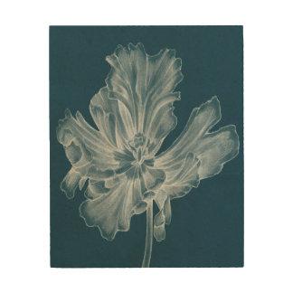 Impression Sur Bois Tulipe monochrome II