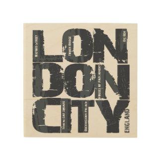 Impression Sur Bois Typographie de Londres, Angleterre