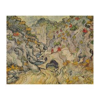 Impression Sur Bois Vincent van Gogh | le ravin du Peyroulets