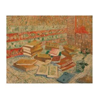 Impression Sur Bois Vincent van Gogh | les livres jaunes, 1887