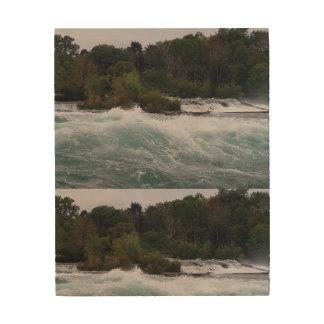 Impression Sur Bois Visite touristique aux chutes du Niagara