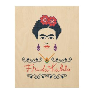Impression Sur Bois Vivats Mexique de Frida Kahlo |