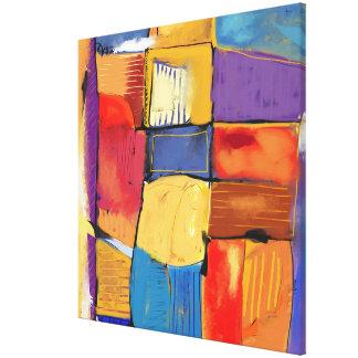 "Impression sur toile, Grand modèle ""Abstract 1205"""
